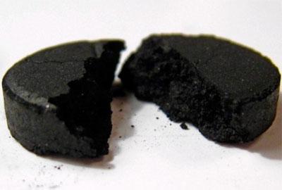 активированный уголь для похудения - вред