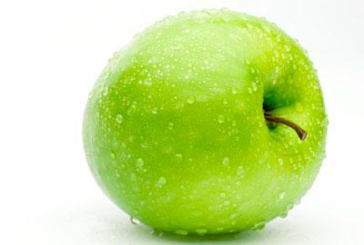 Польза зелёных яблок
